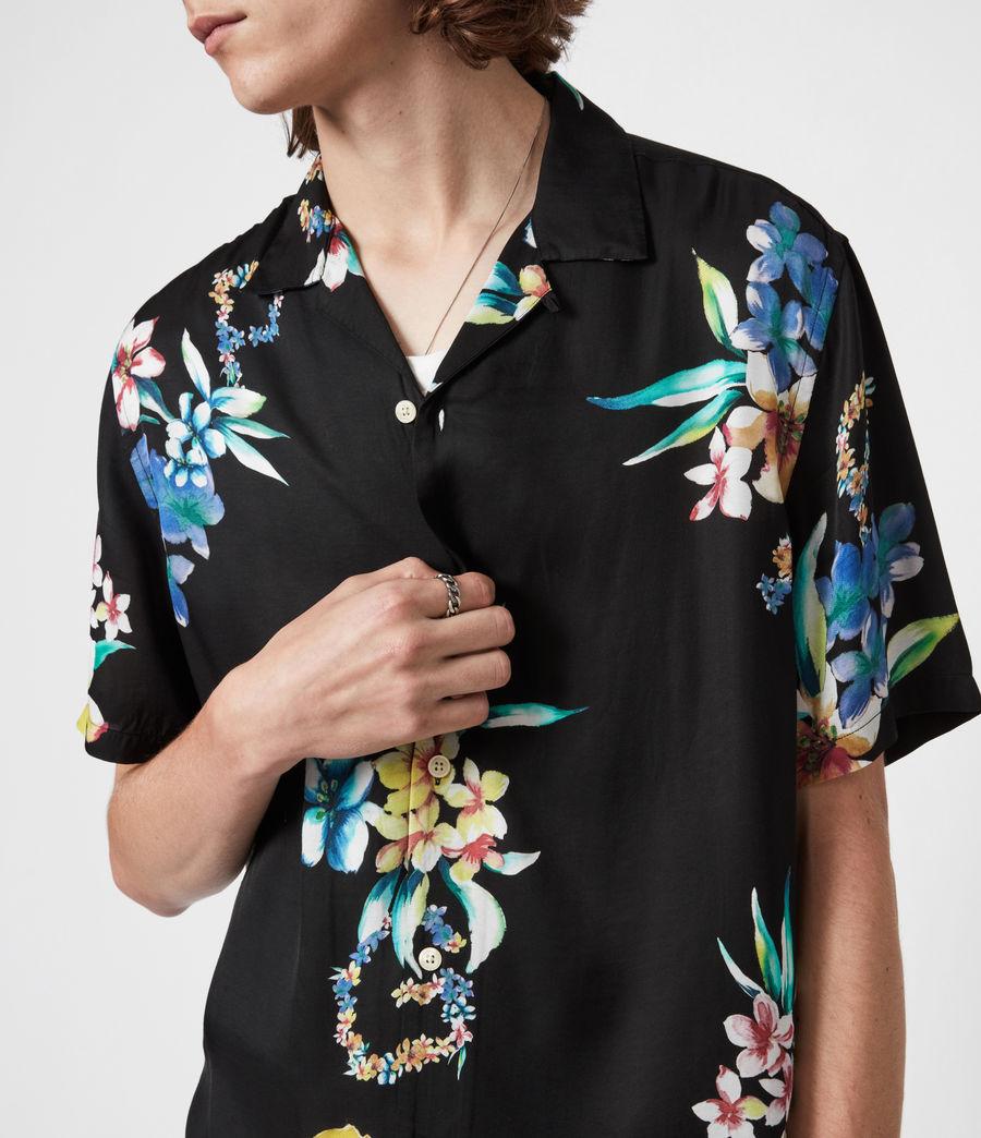 Men's Hana Shirt (jet_black) - Image 6