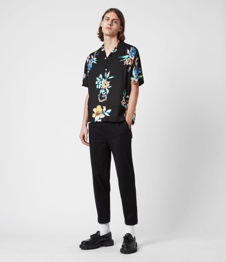Men's Hana Shirt (jet_black) - Image 8