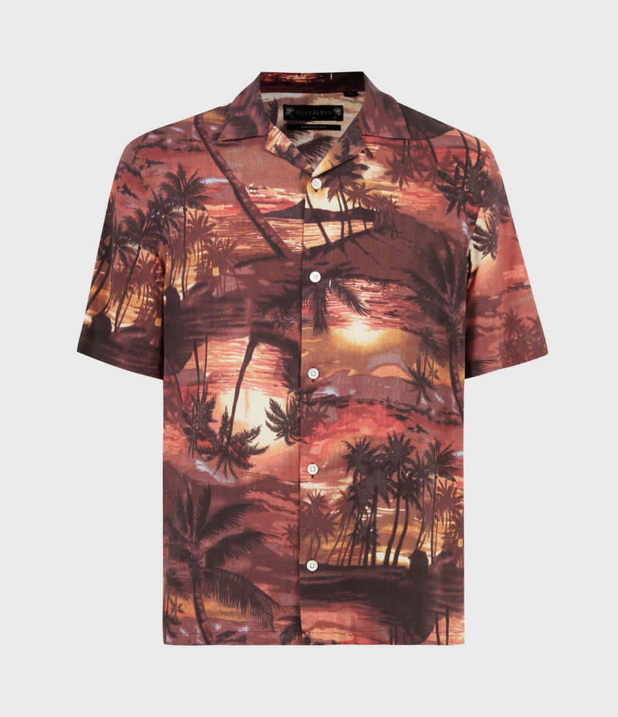 Hommes Sunbeam Shirt (scorched_red) - Image 2