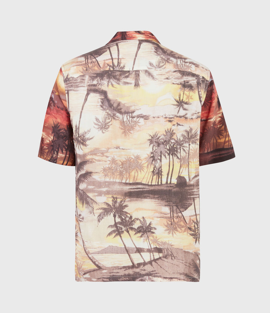 Hommes Sunbeam Shirt (scorched_red) - Image 3