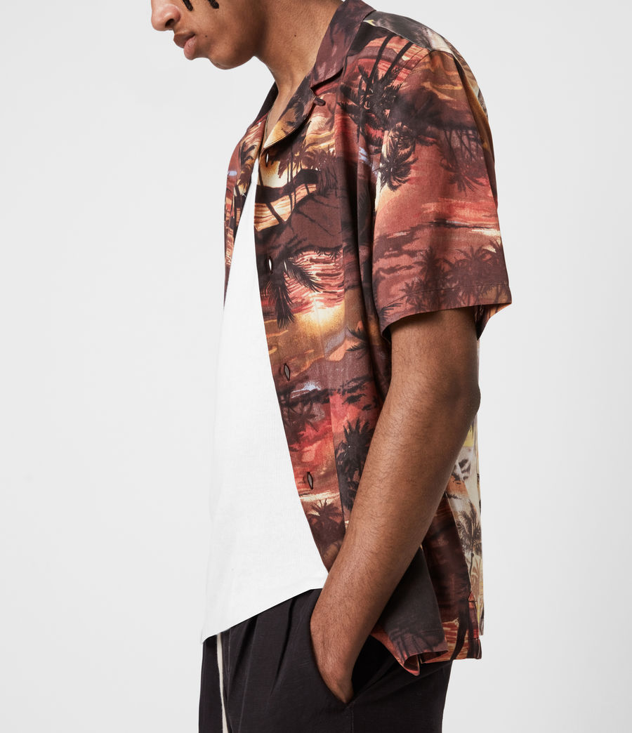 Hommes Sunbeam Shirt (scorched_red) - Image 4