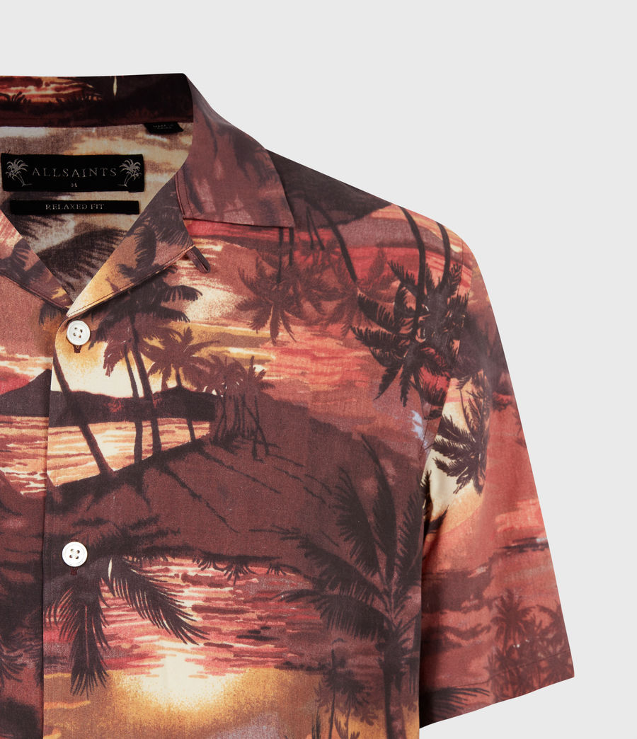 Hommes Sunbeam Shirt (scorched_red) - Image 5