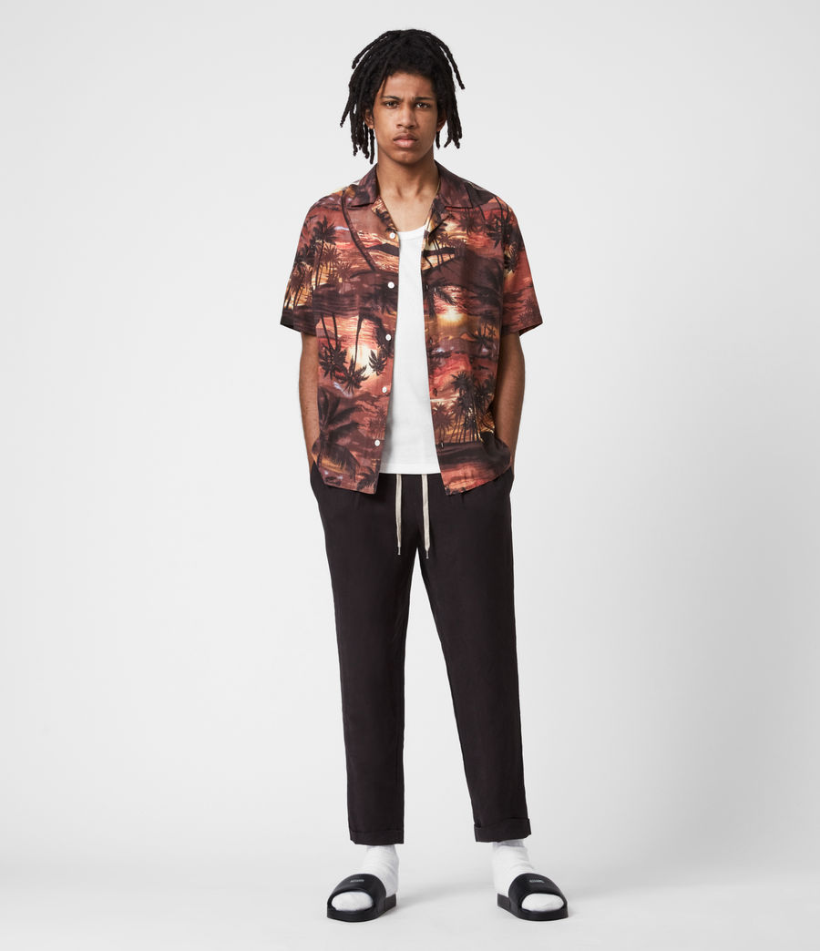 Hommes Sunbeam Shirt (scorched_red) - Image 6