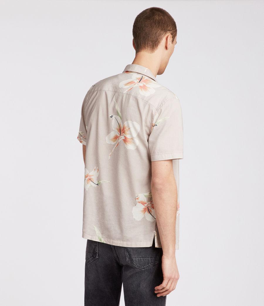 Men's Rosarito Hawaiian Shirt (light_grey) - Image 4