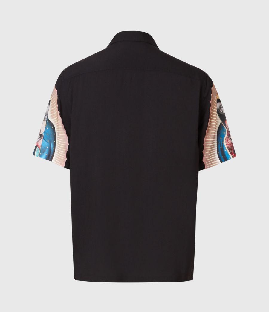 Mens Basilica Shirt (jet_black) - Image 3