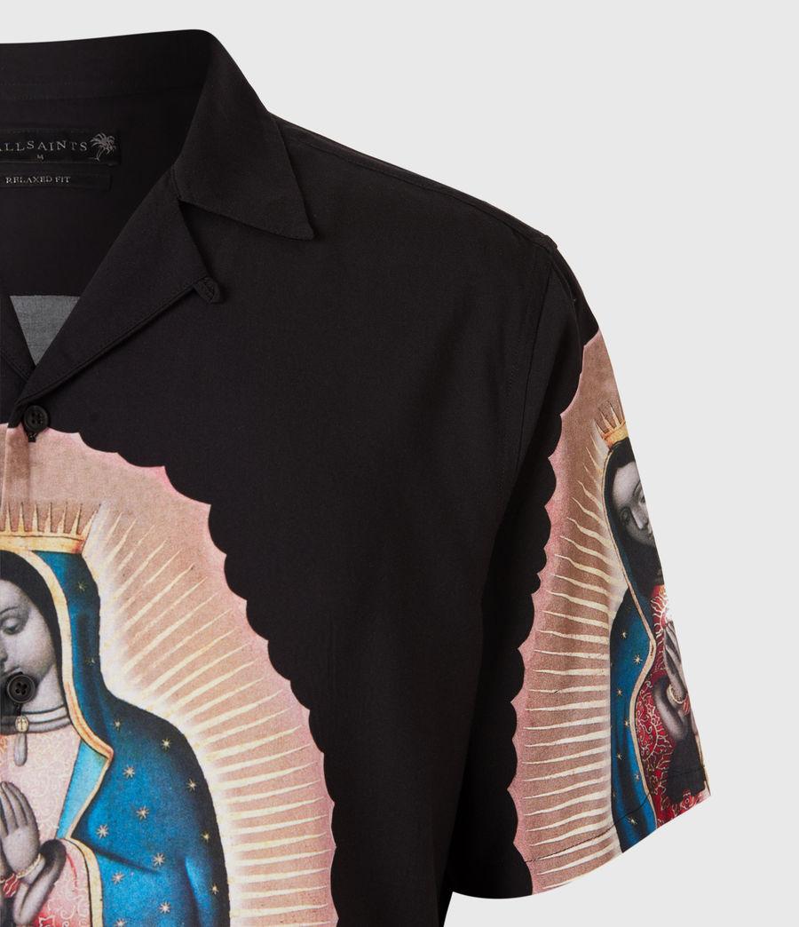 Mens Basilica Shirt (jet_black) - Image 4