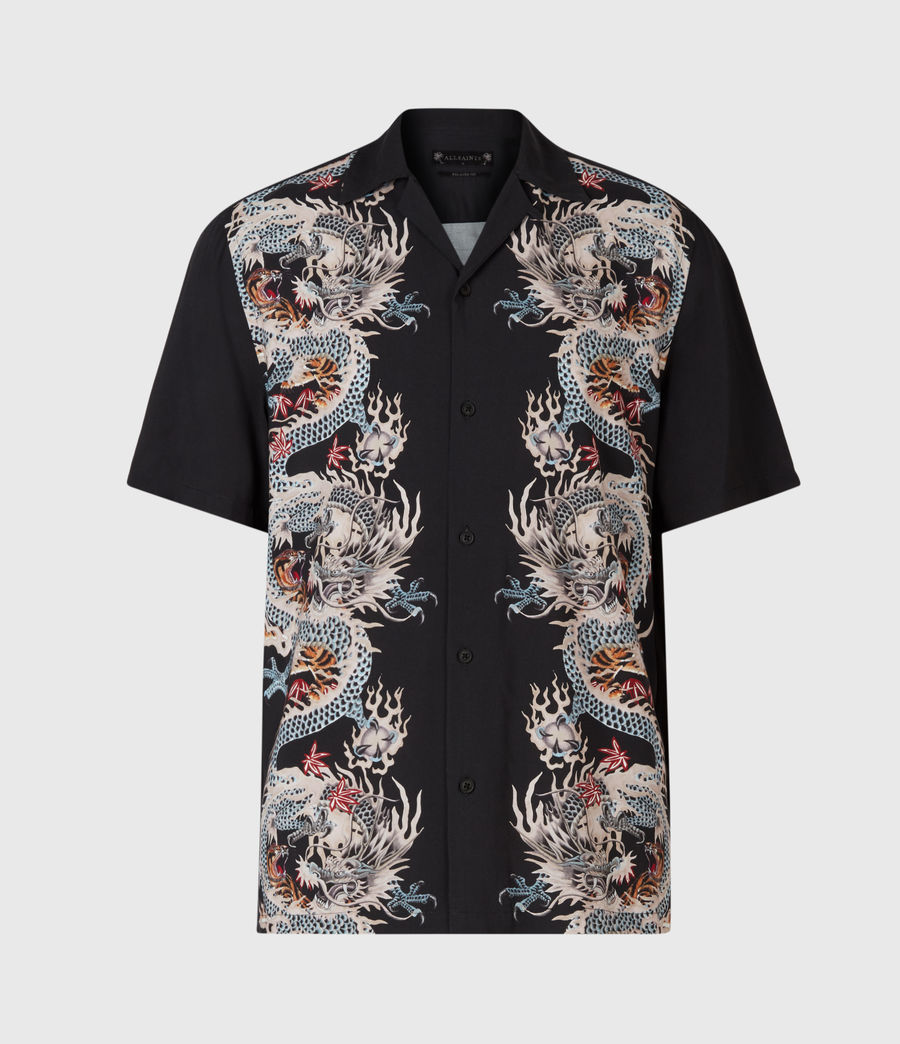Men's Dragonstone Shirt (jet_black) - Image 2