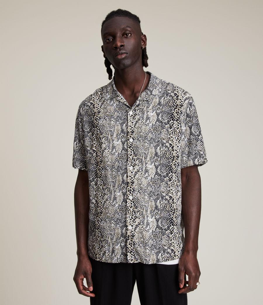 Men's Reptilia Shirt (off_white) - Image 1
