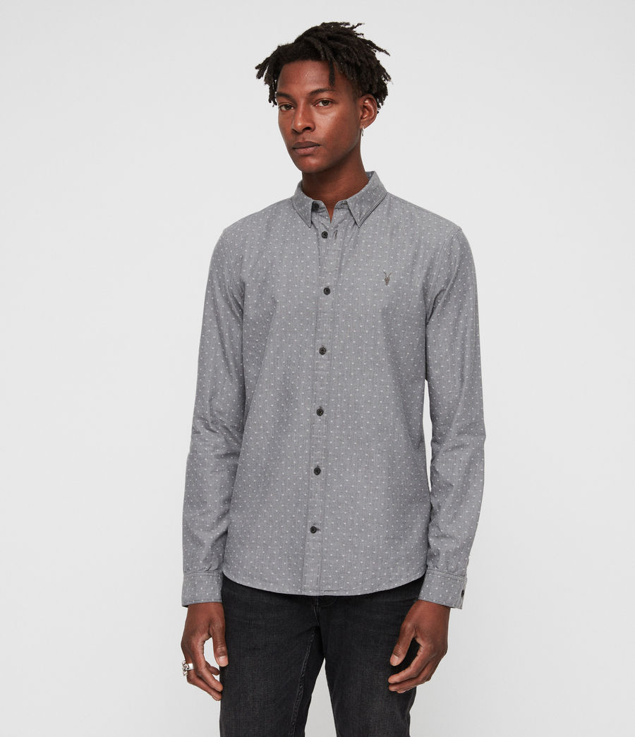 Men's Montauk Shirt (grey) - Image 1
