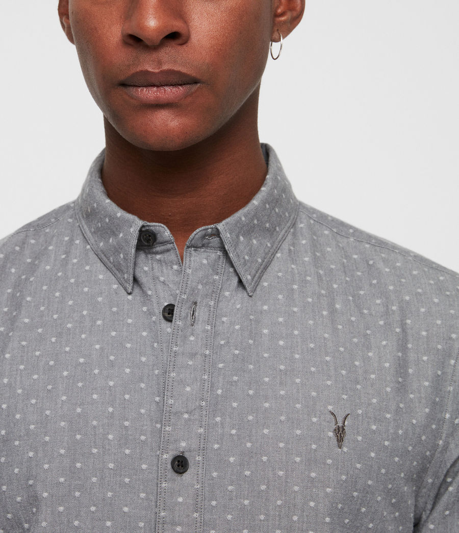 Men's Montauk Shirt (grey) - Image 2