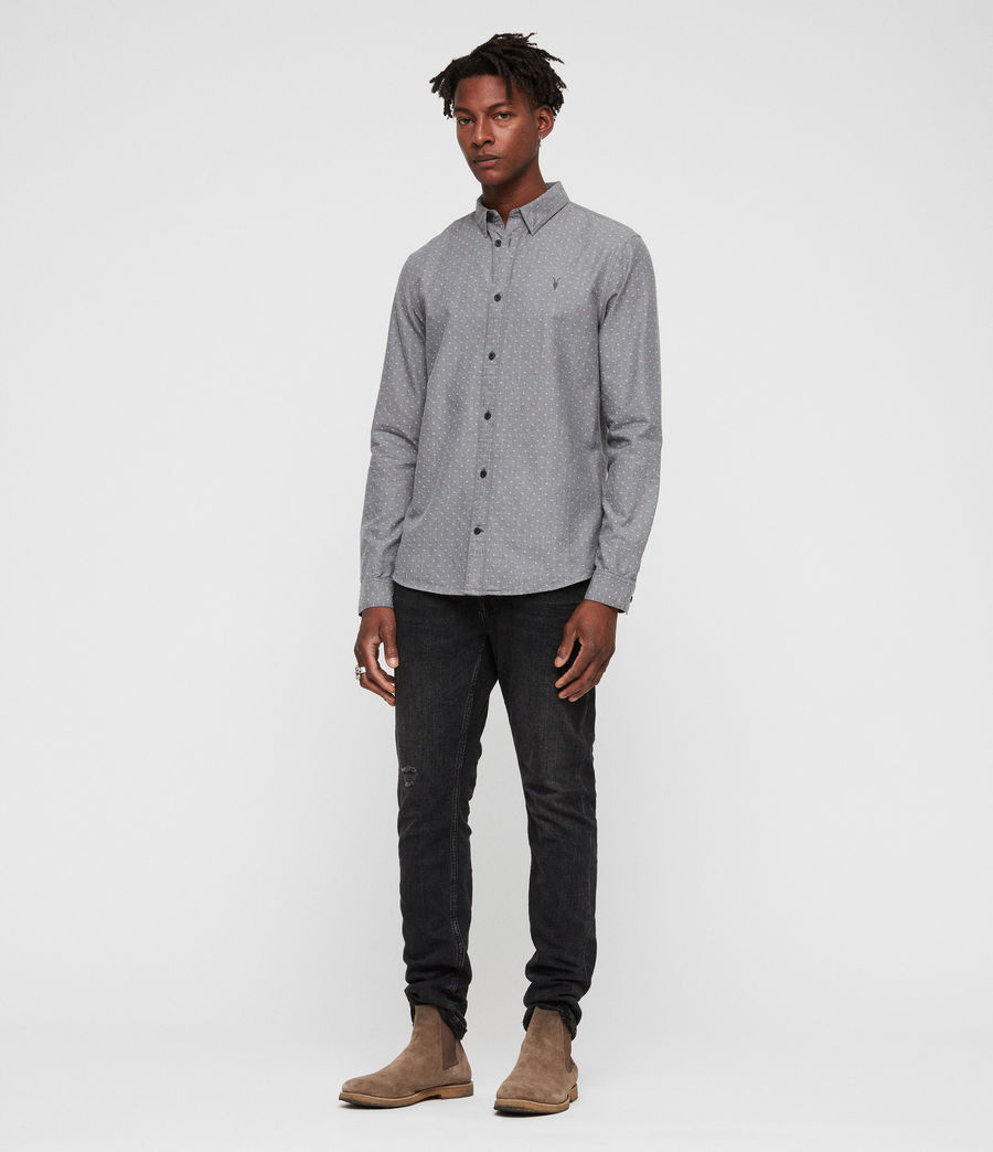 Men's Montauk Shirt (grey) - Image 3