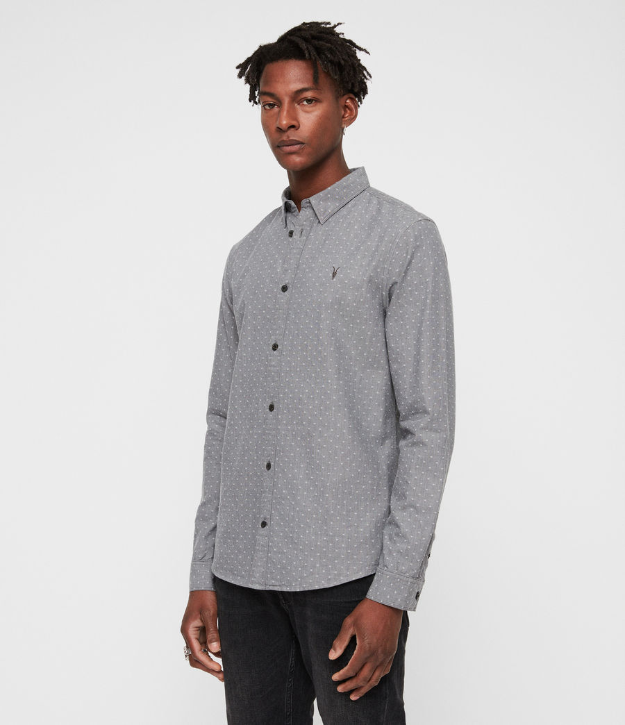 Men's Montauk Shirt (grey) - Image 4