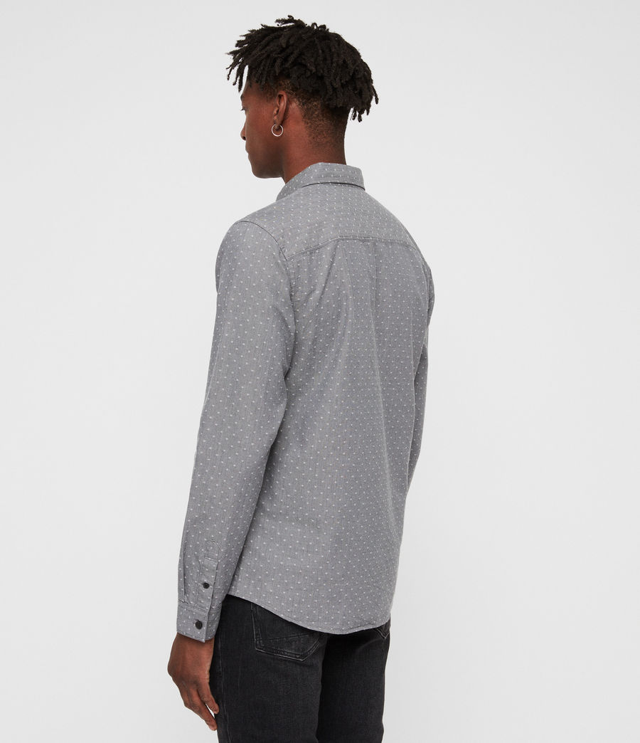 Men's Montauk Shirt (grey) - Image 5