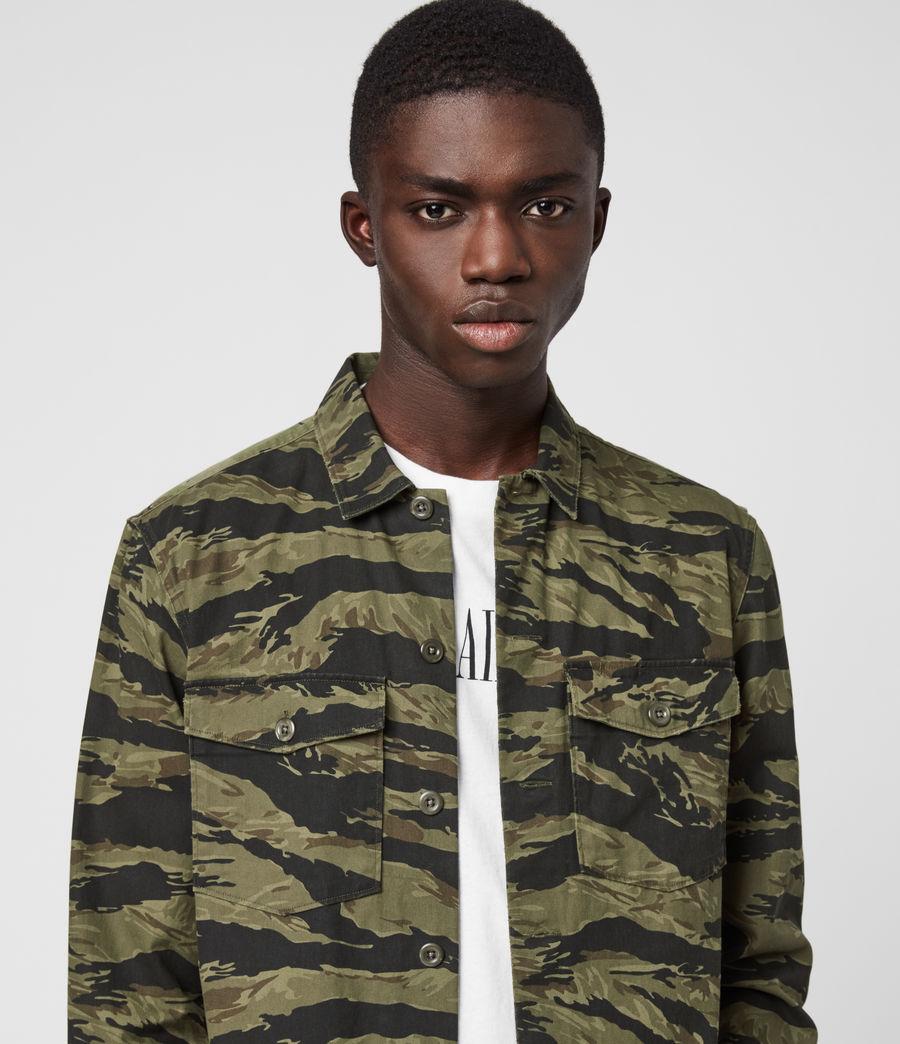 Hombres Krueger Shirt (khaki_green) - Image 2