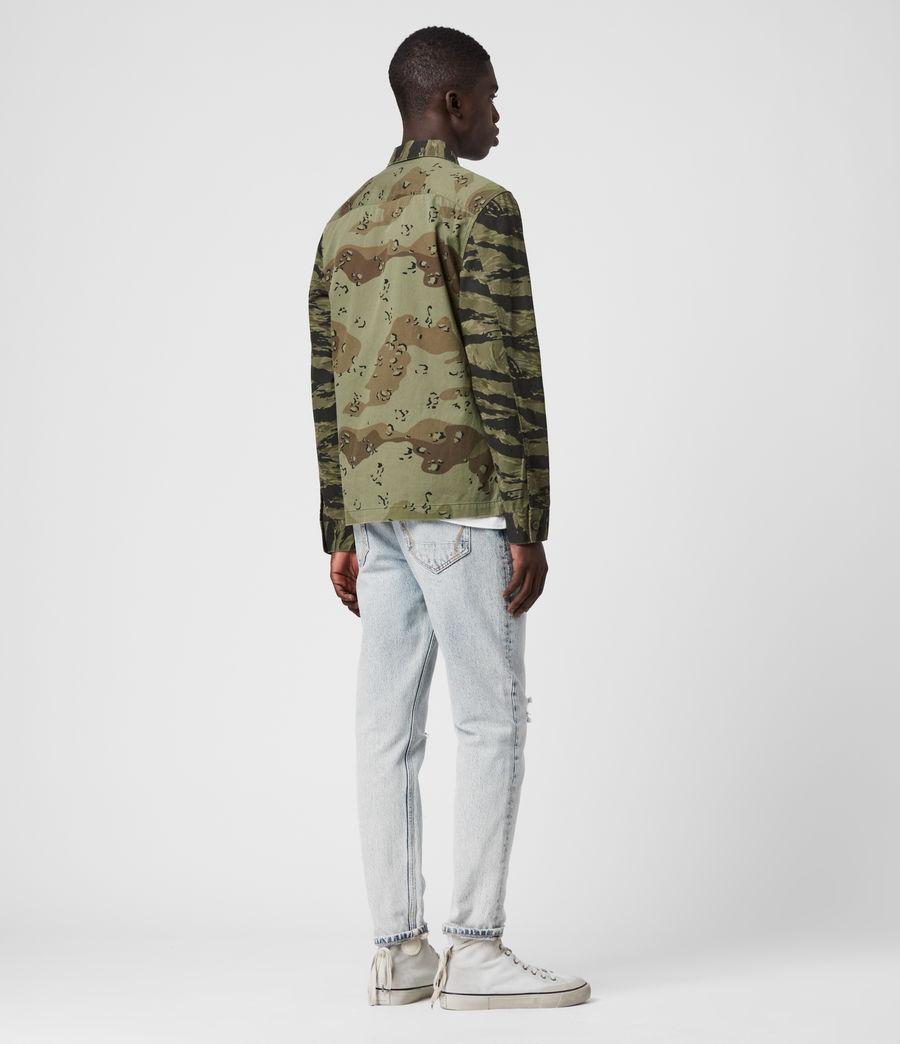 Hombres Krueger Shirt (khaki_green) - Image 5