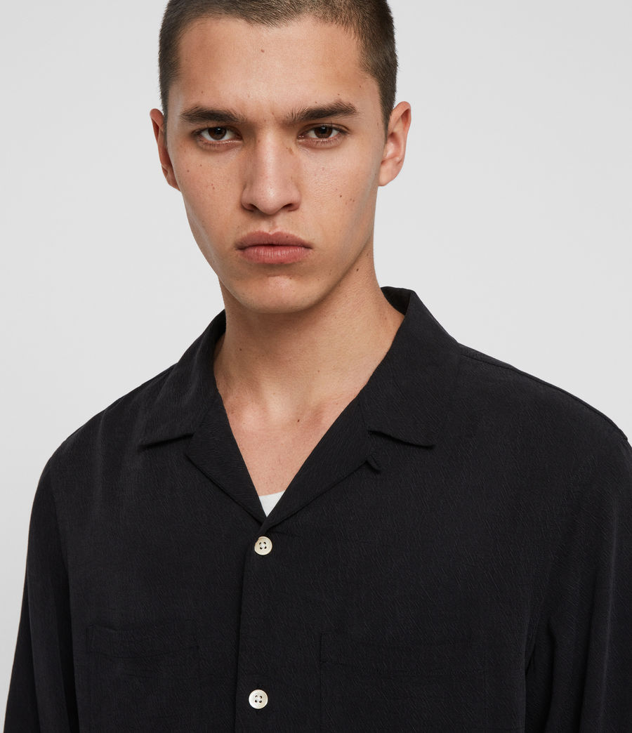 Men's Palermo Shirt (jet_black) - Image 2