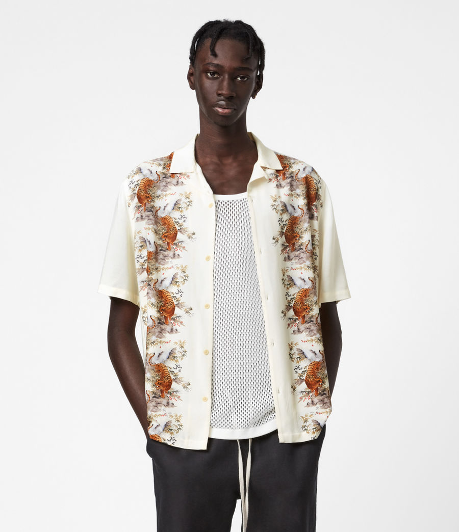 Mens Timor Shirt (ecru) - Image 1