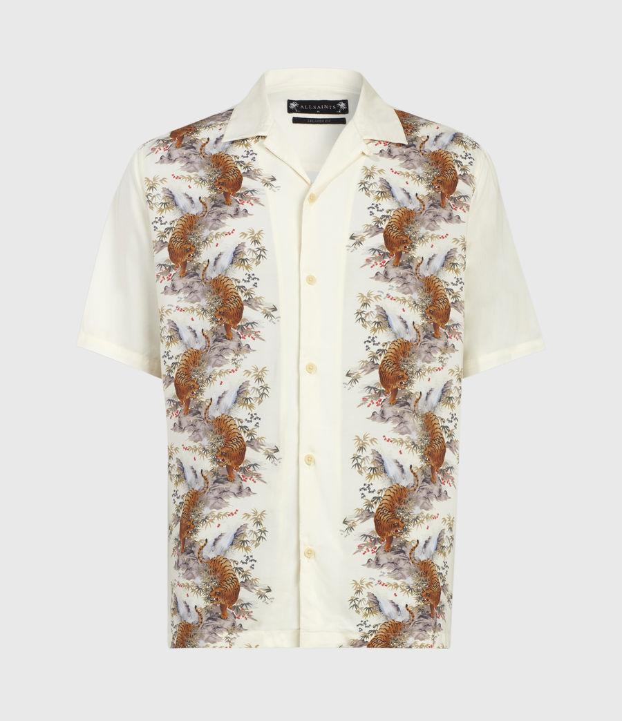 Herren Timor Kurzarm Hemd (ecru) - Image 2