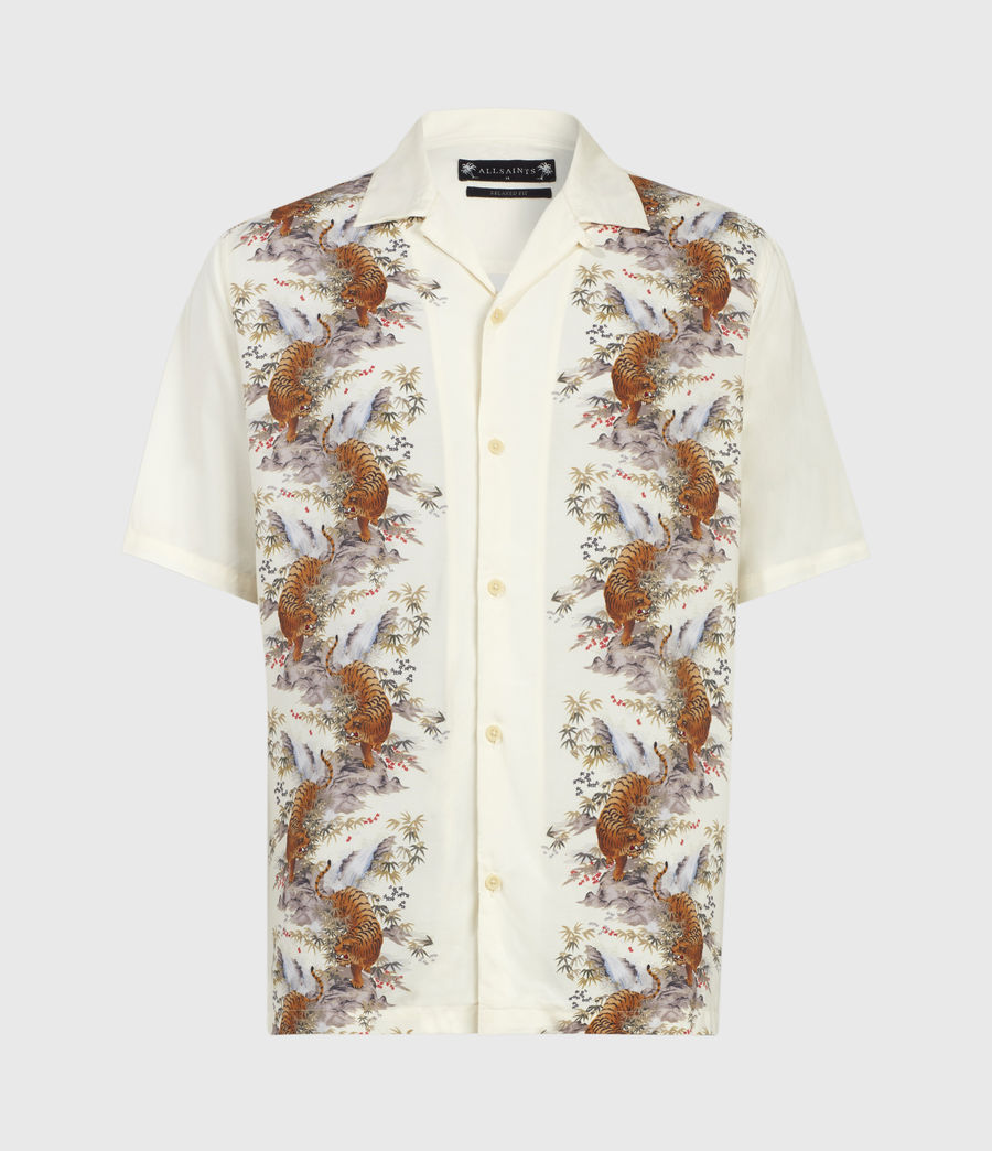 Mens Timor Shirt (ecru) - Image 2