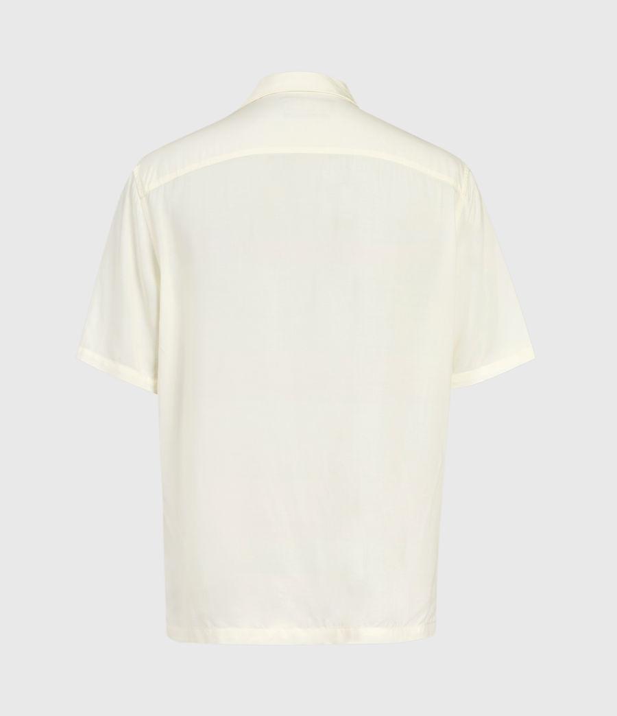 Herren Timor Kurzarm Hemd (ecru) - Image 3