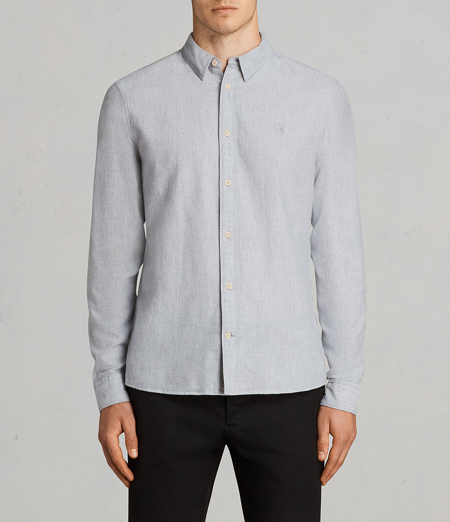 Men's Millard Shirt (light_grey) - Image 1