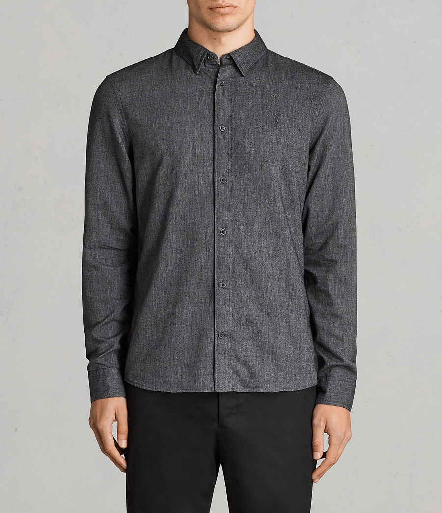 Men's Millard Shirt (grey) - Image 1
