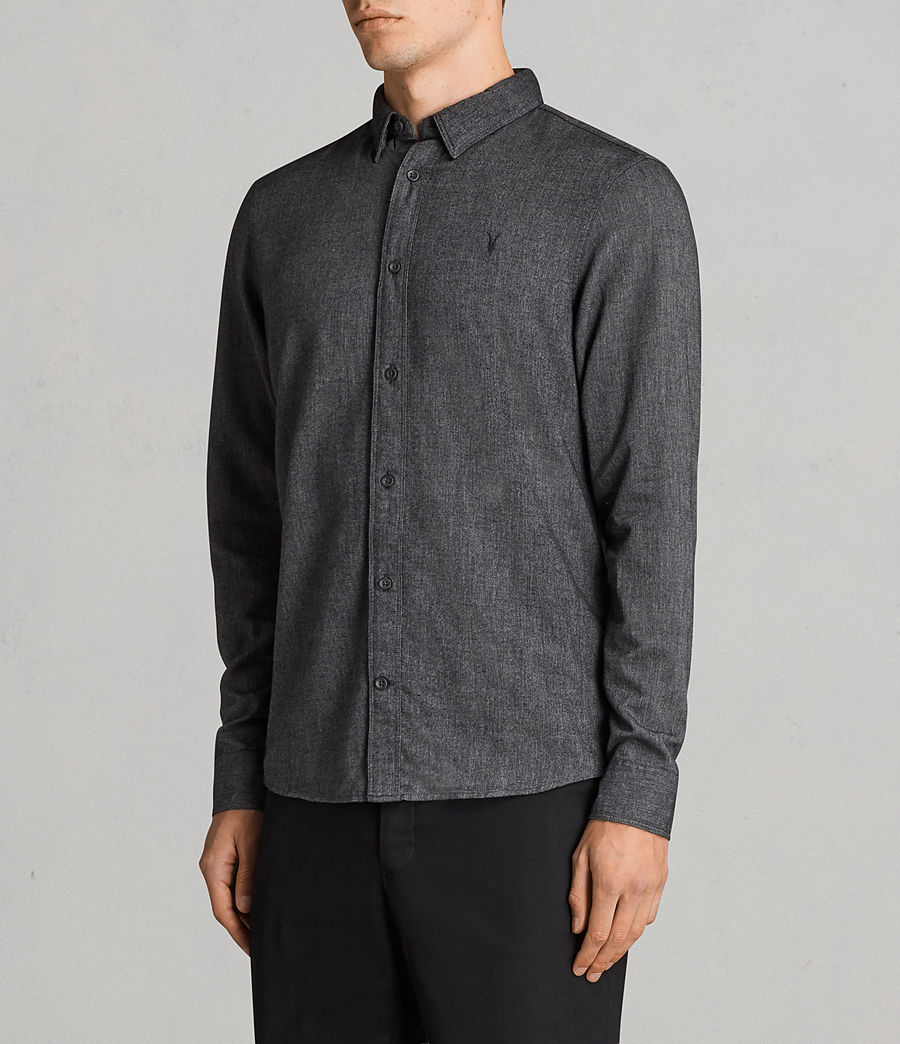 Men's Millard Shirt (grey) - Image 3