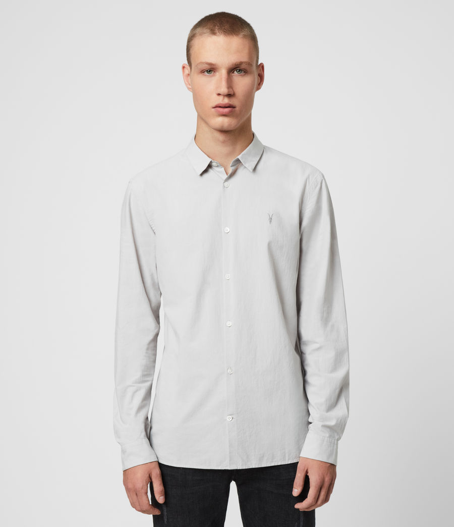 Mens Hains Shirt (coal_grey) - Image 1