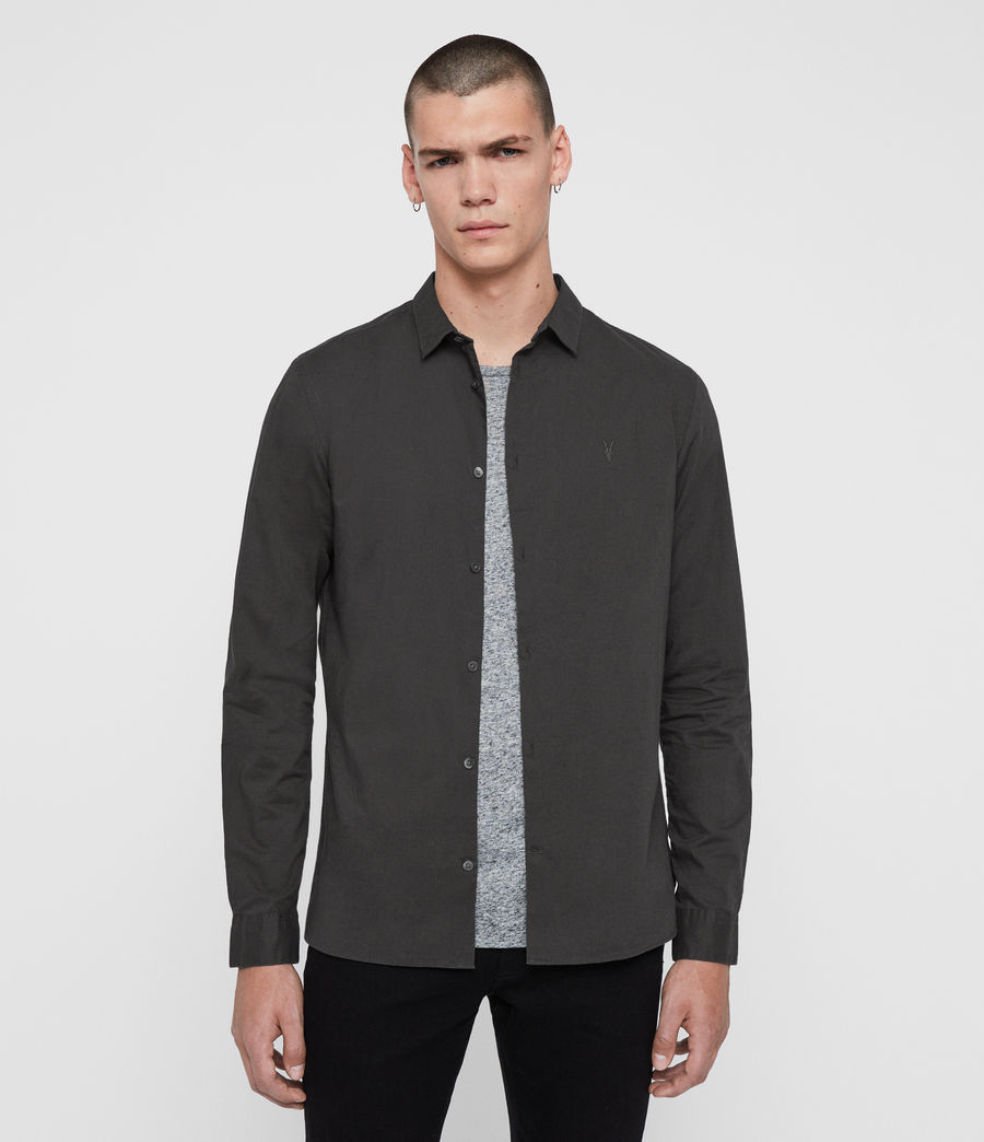 Men's Hains Shirt (cement_grey) - Image 1