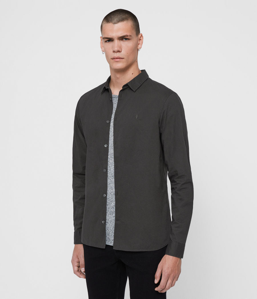 Men's Hains Shirt (cement_grey) - Image 3