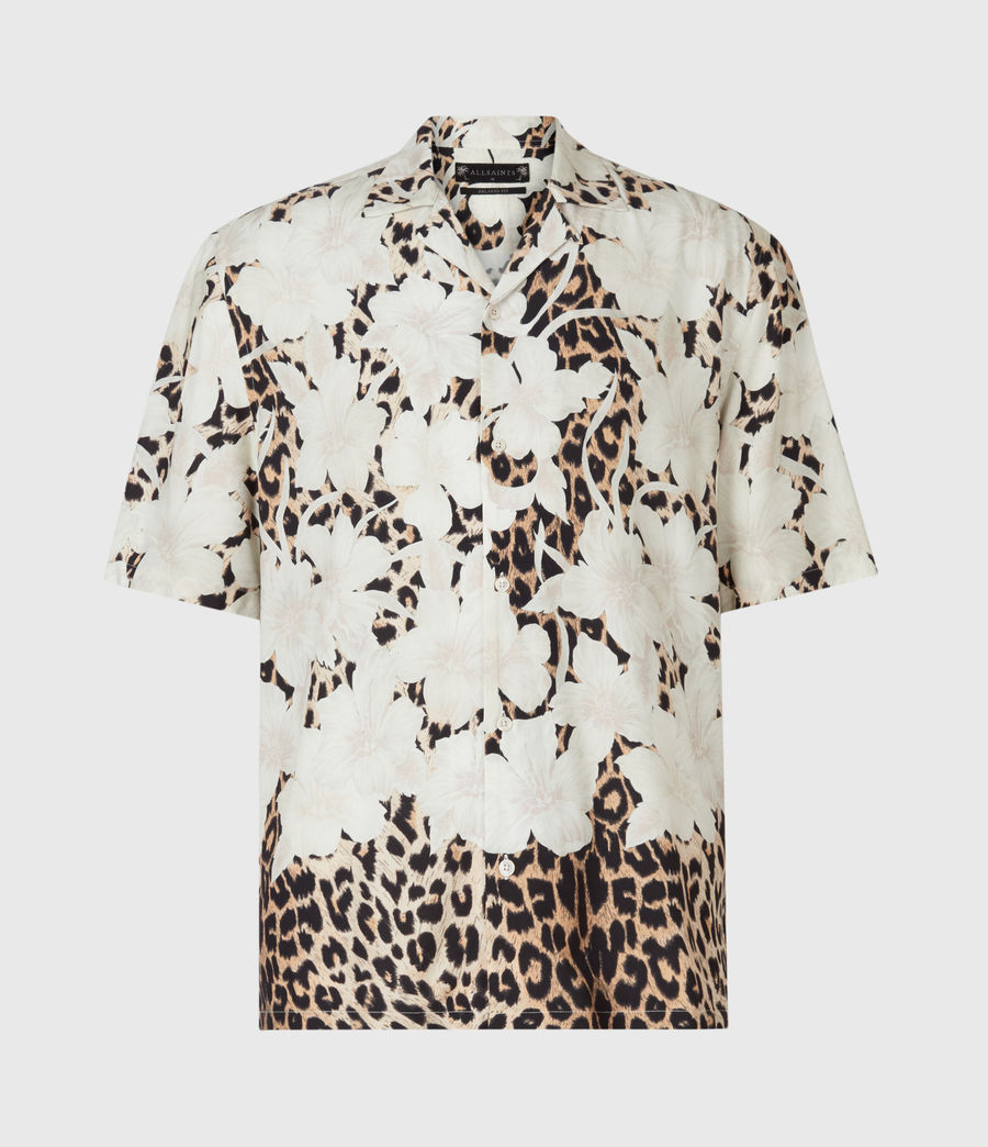 Mens Leopon Shirt (ecru) - Image 3