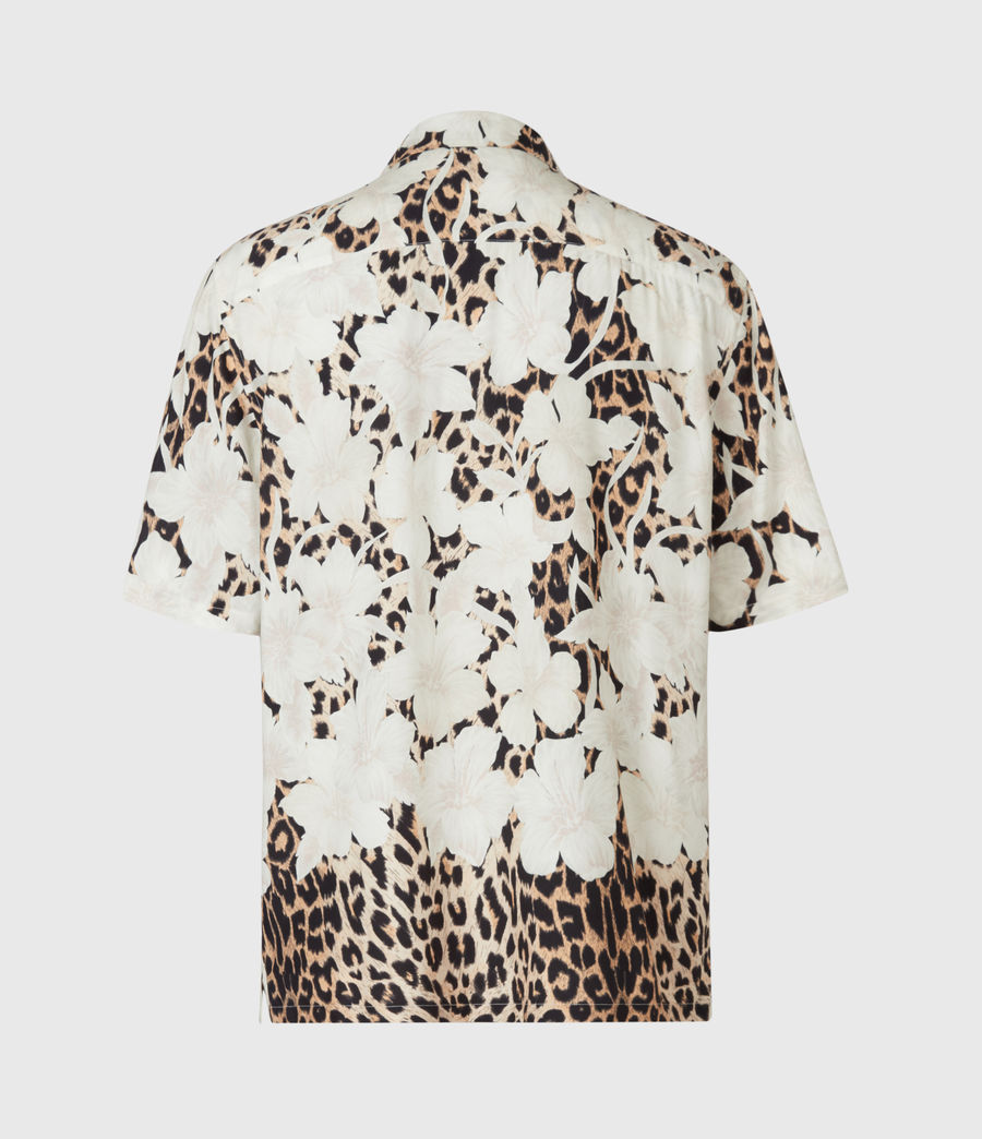 Mens Leopon Shirt (ecru) - Image 4