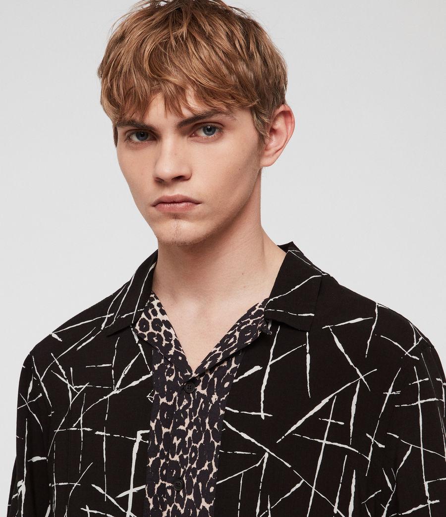 Men's Stix Shirt (jet_black) - Image 2