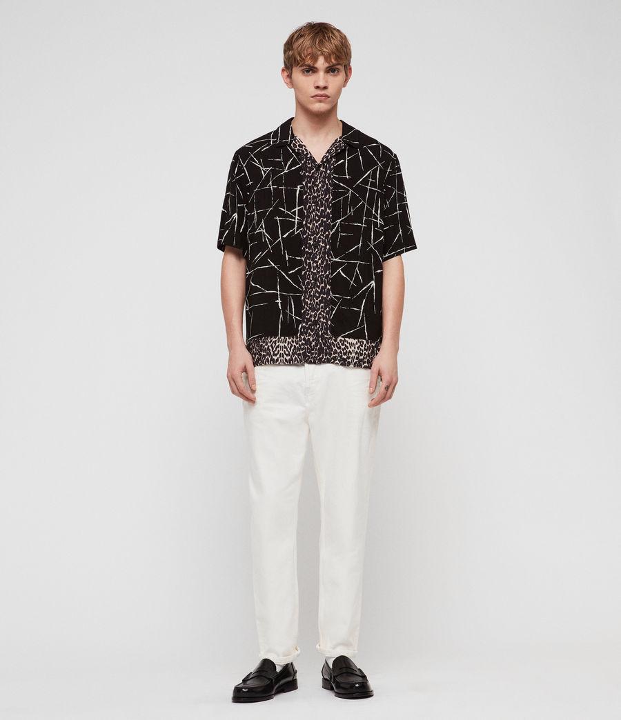 Men's Stix Shirt (jet_black) - Image 3