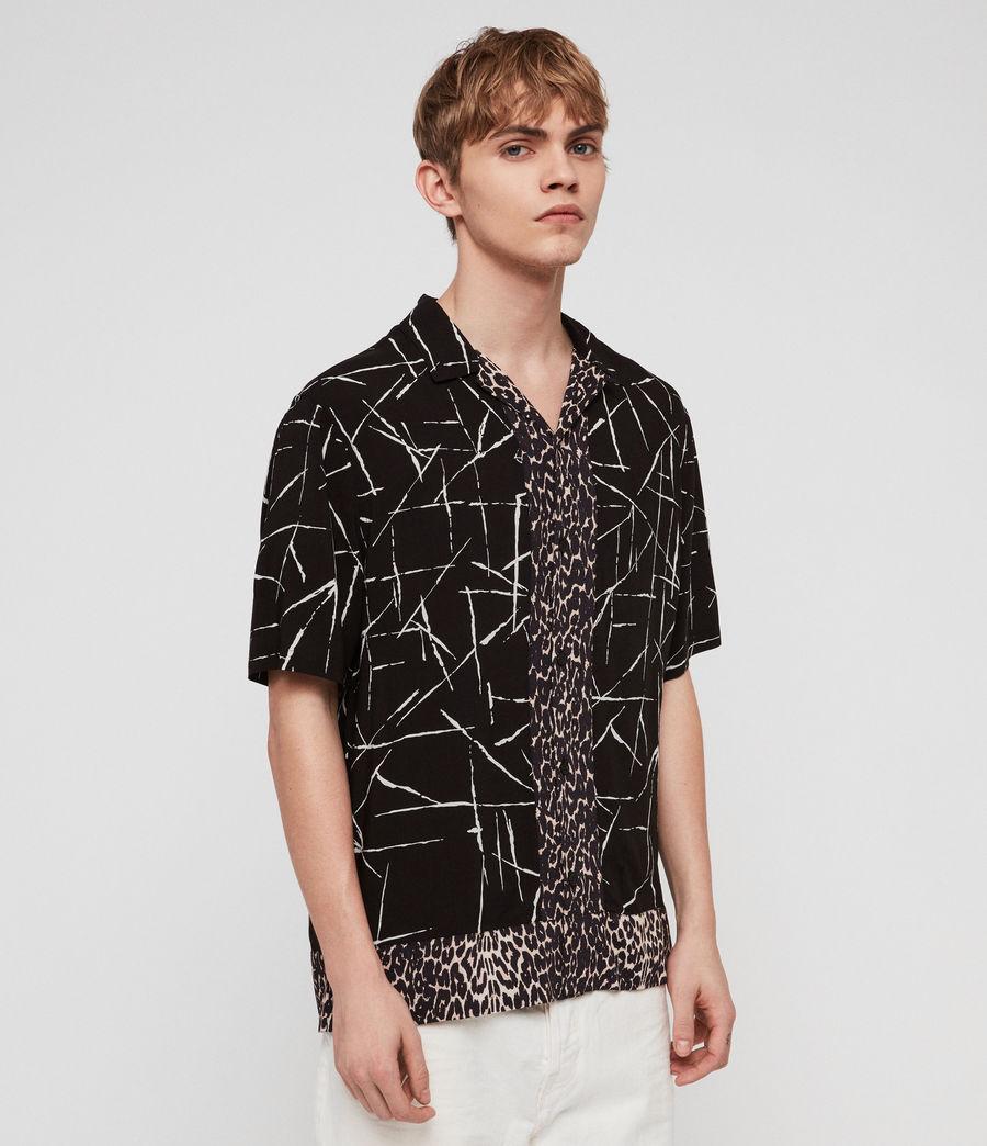 Men's Stix Shirt (jet_black) - Image 4