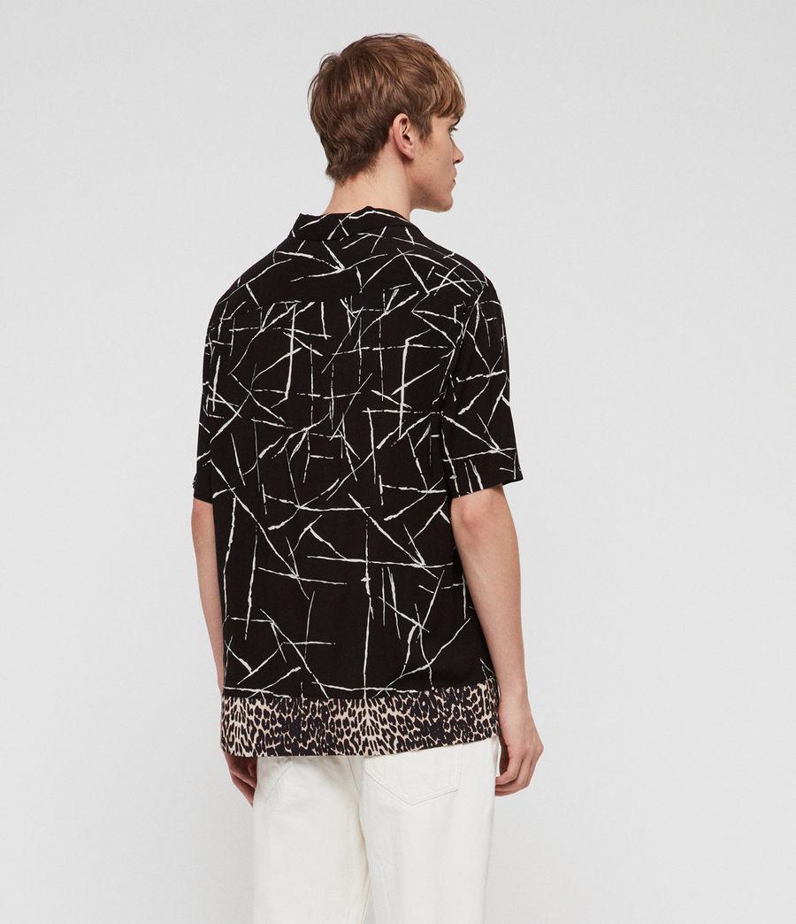 Men's Stix Shirt (jet_black) - Image 5