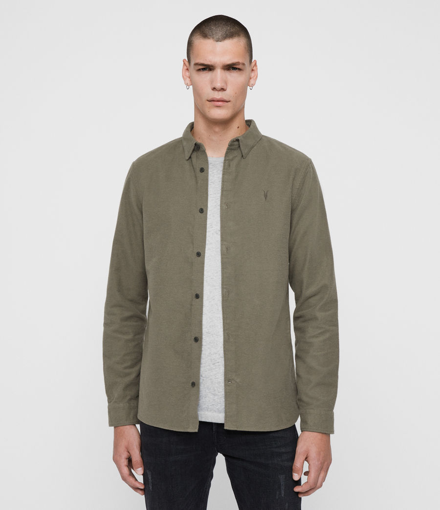 Men's Nordheim Shirt (khaki_green) - Image 1