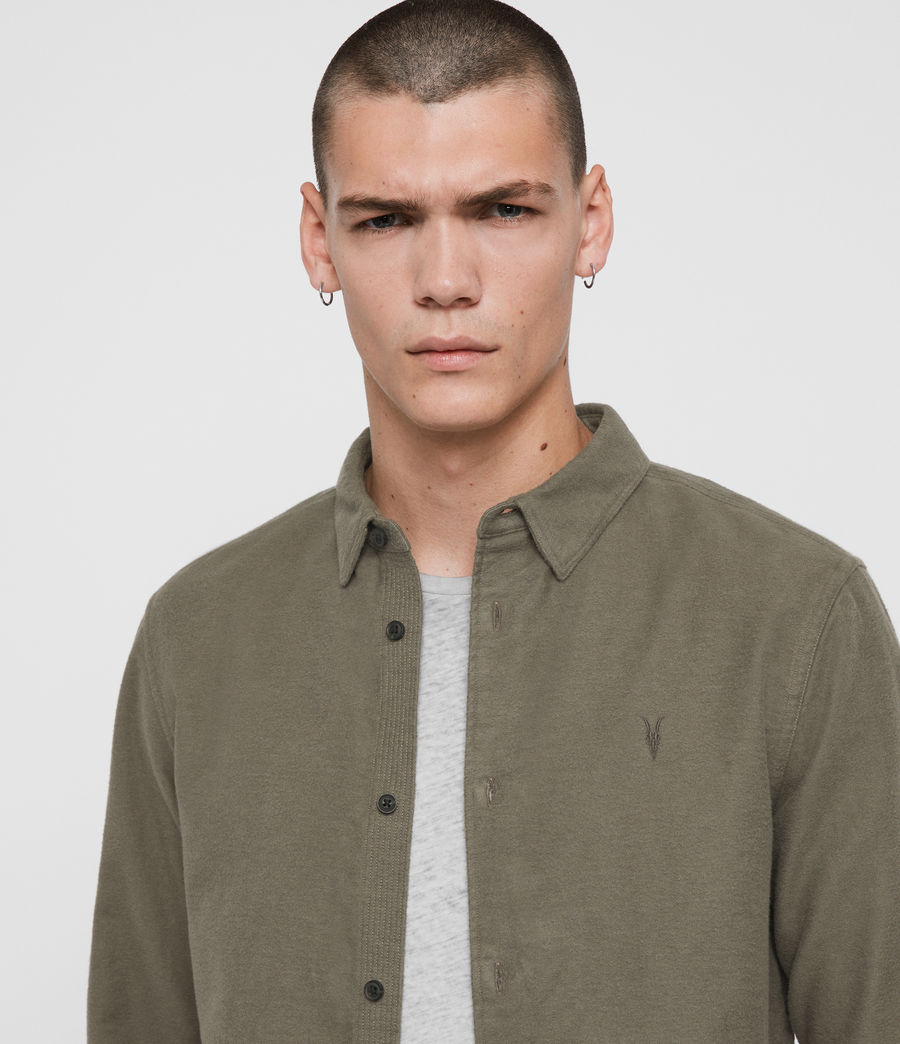 Men's Nordheim Shirt (khaki_green) - Image 2