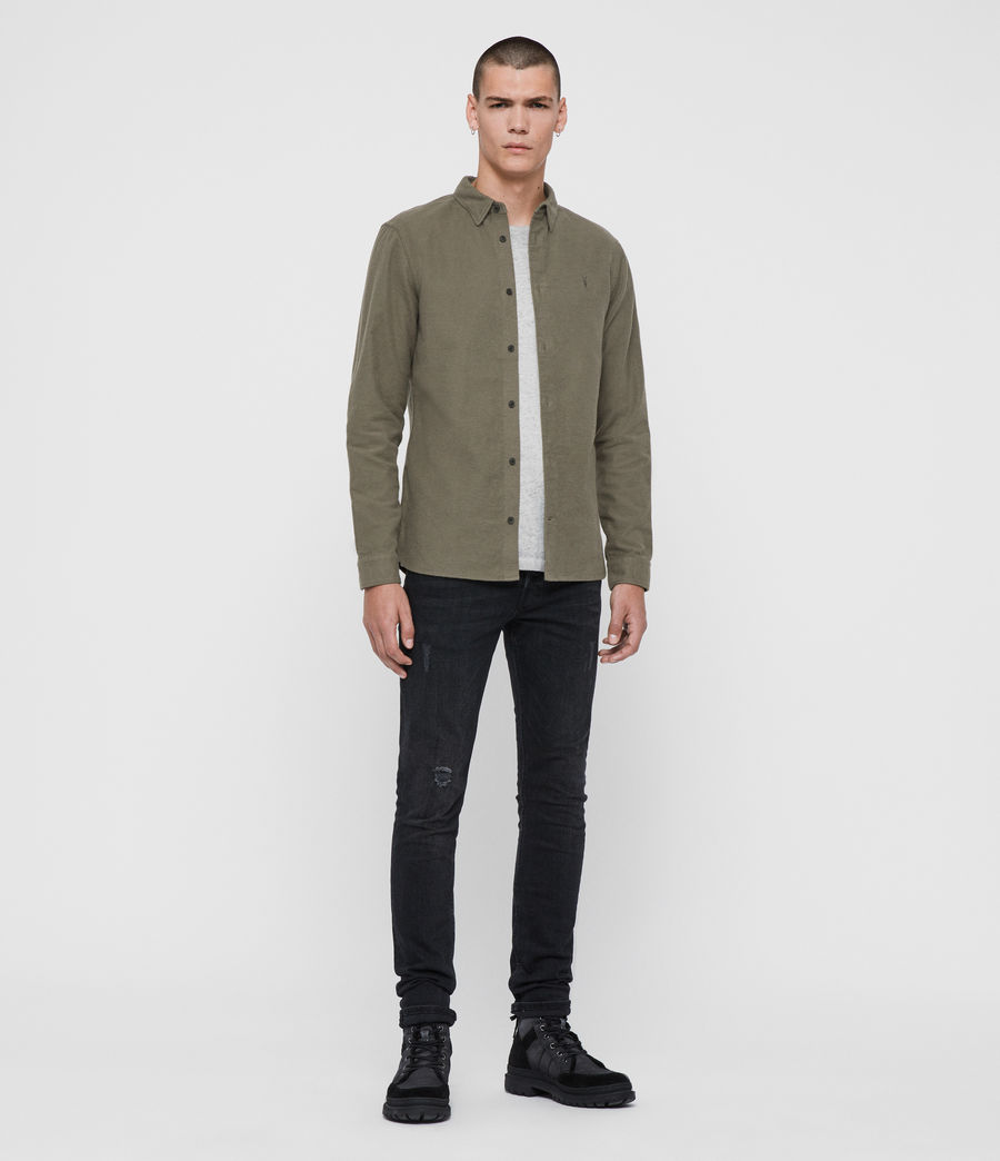 Men's Nordheim Shirt (khaki_green) - Image 3