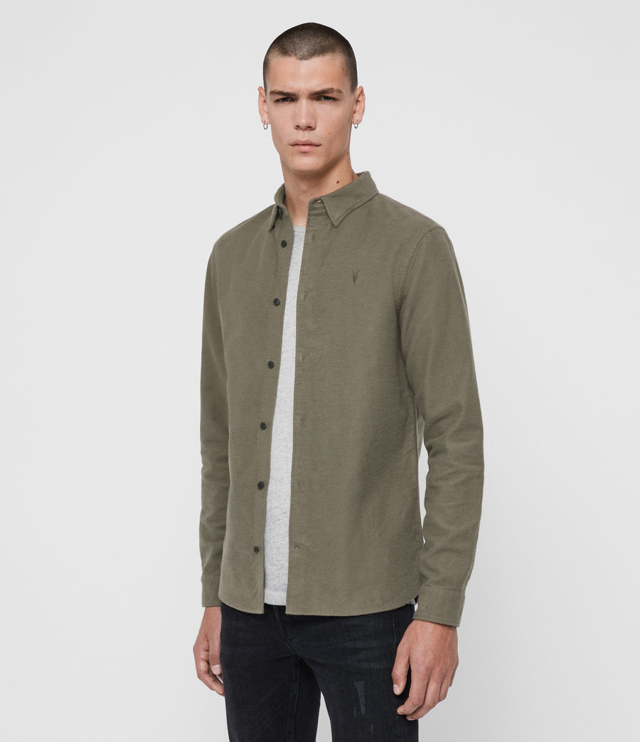 Men's Nordheim Shirt (khaki_green) - Image 4