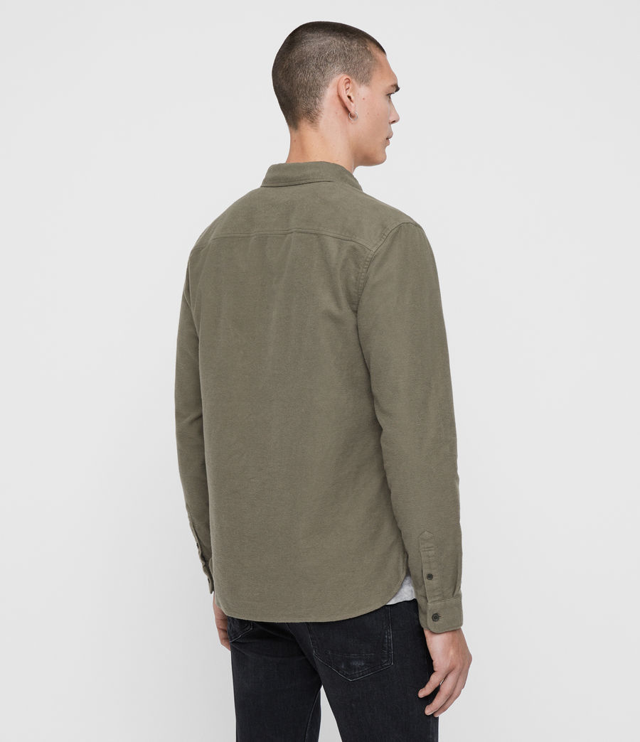 Men's Nordheim Shirt (khaki_green) - Image 5