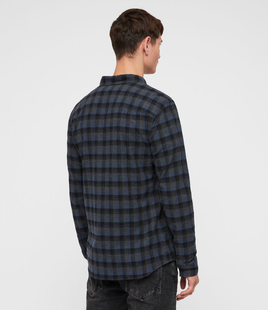 Men's Newburg Shirt (charcoal_blue) - Image 4