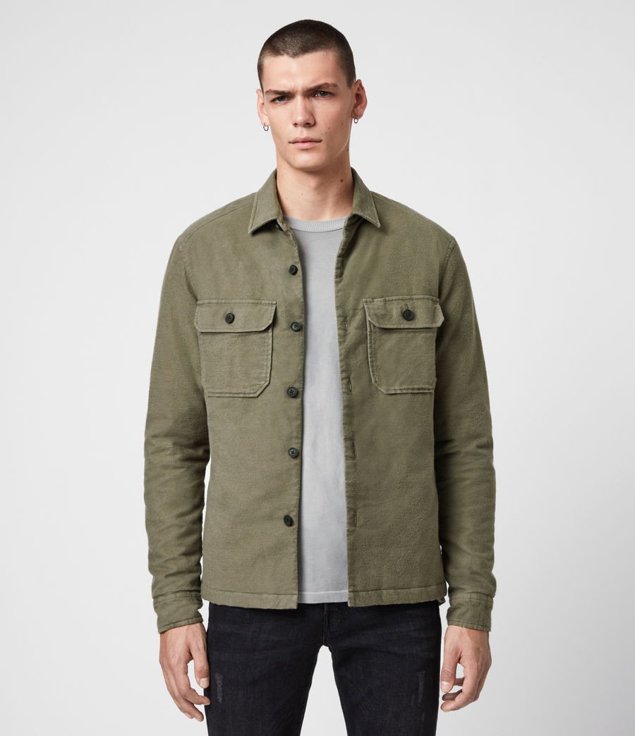 Mens Boldt Shirt (khaki_green) - Image 1