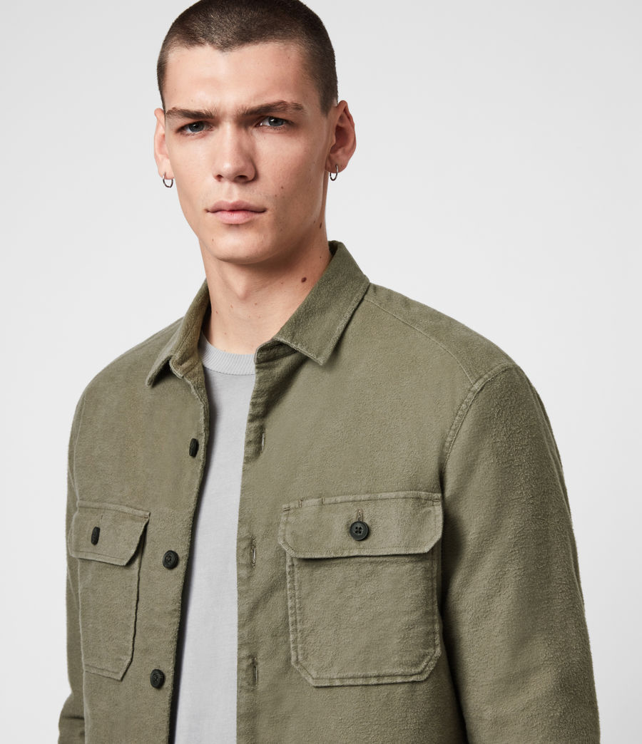Mens Boldt Shirt (khaki_green) - Image 2