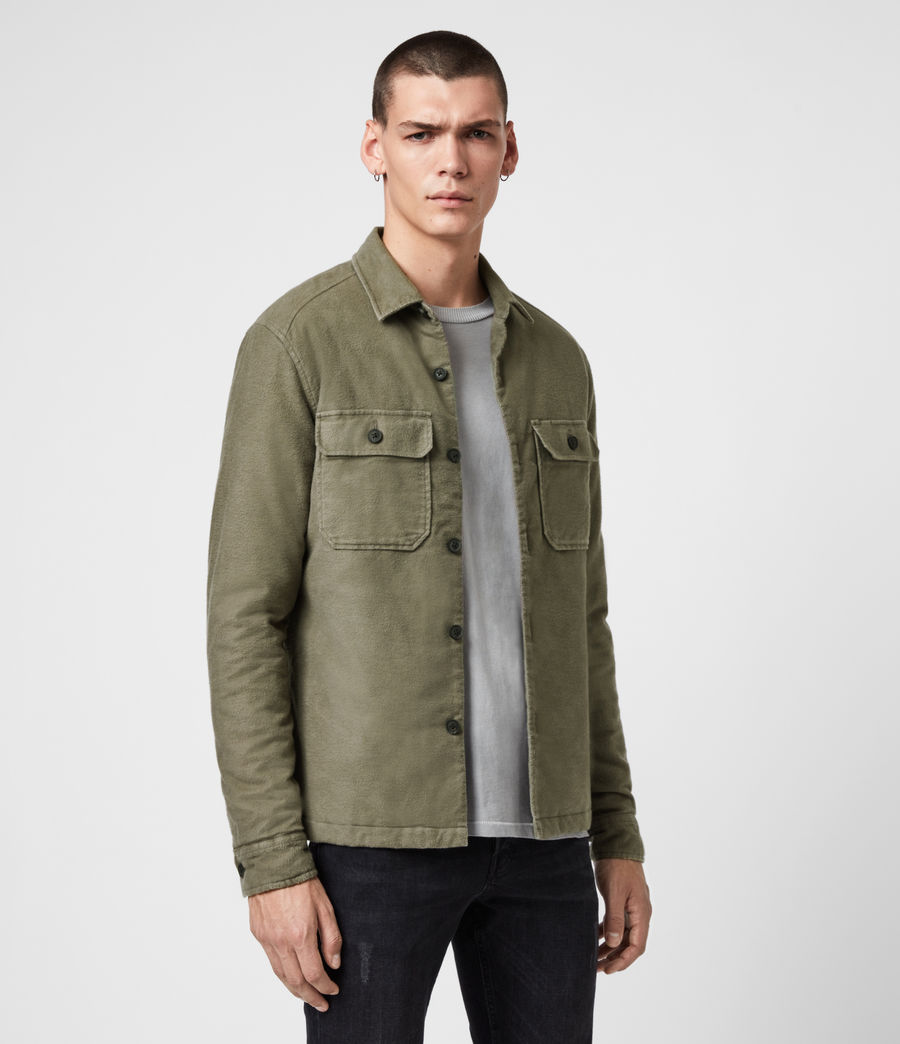 Mens Boldt Shirt (khaki_green) - Image 4