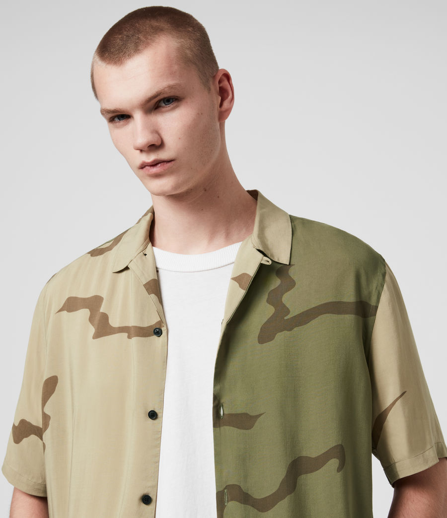 Mens Invasion Shirt (khaki_green) - Image 2