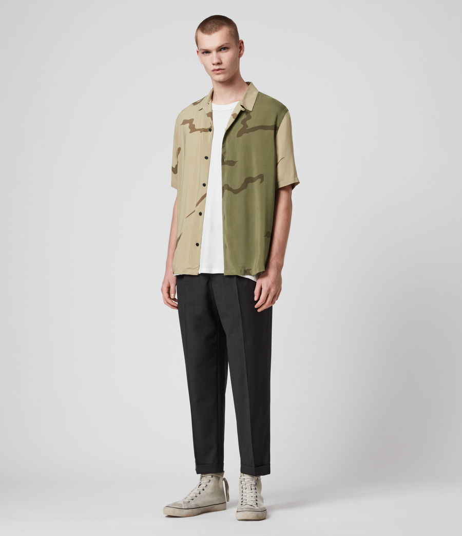 Mens Invasion Shirt (khaki_green) - Image 3