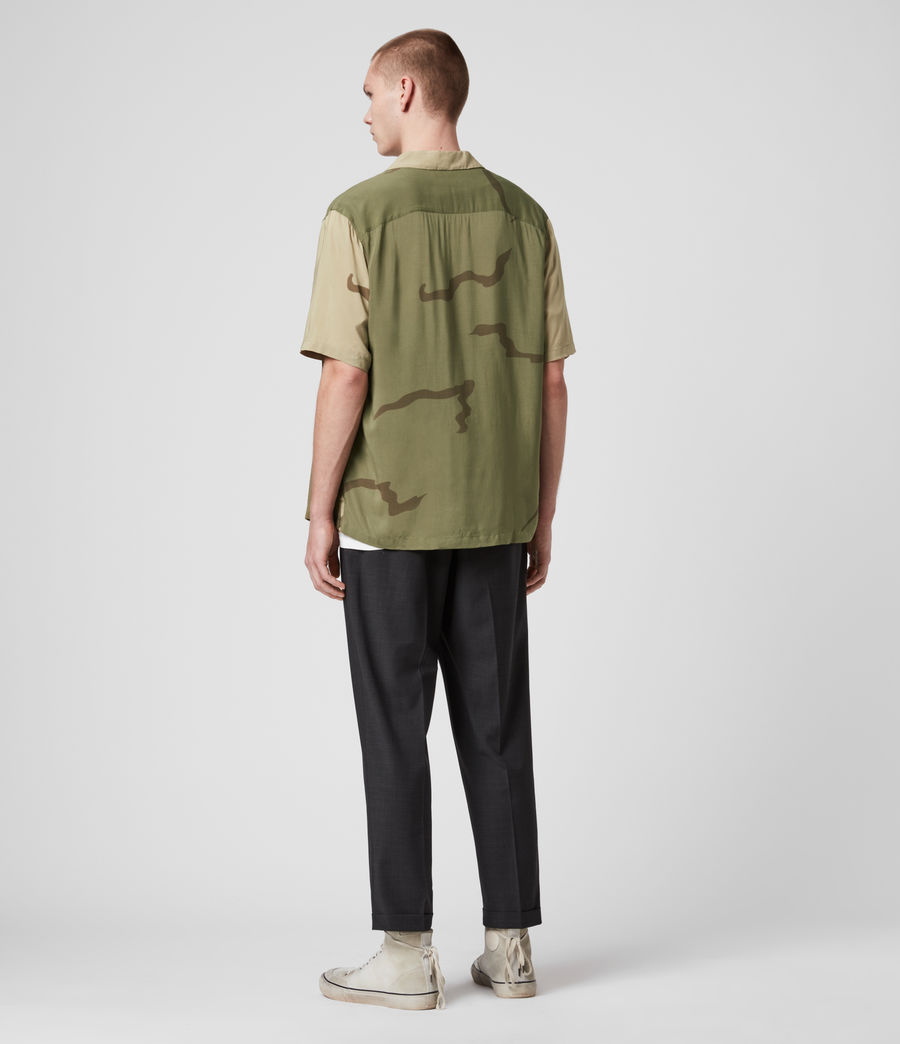Mens Invasion Shirt (khaki_green) - Image 5