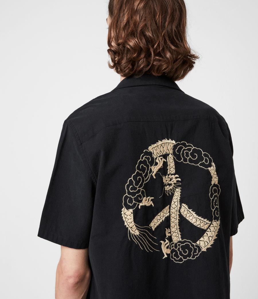 Men's Disarm Shirt (jet_black) - Image 4