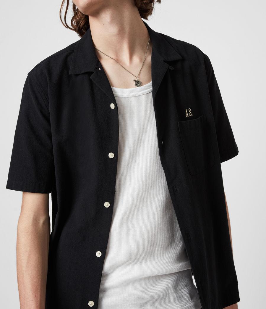 Men's Disarm Shirt (jet_black) - Image 7